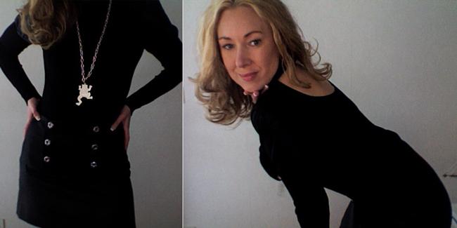 sexig kjol super boobs