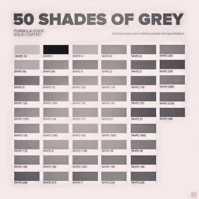 50 nyanser av grått