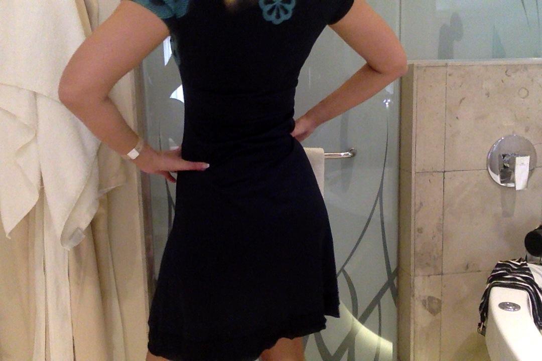 En klänning i blått o turkost! | Boutique Diva